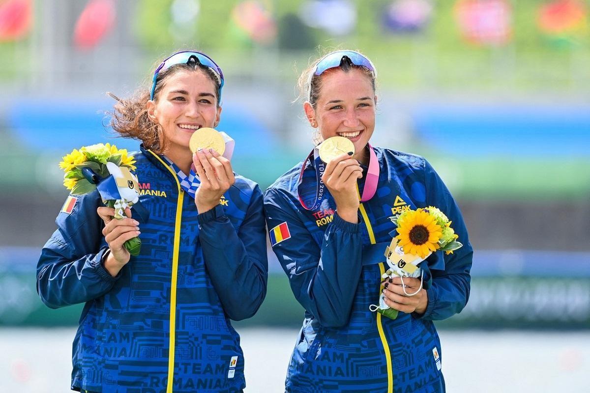 Ancuţa Bodnar şi Simona Radiş, aur la Jocurile Olimpice de la Tokyo. Fetele au câștigat proba de dublu vâsle, după o cursă fenomenală