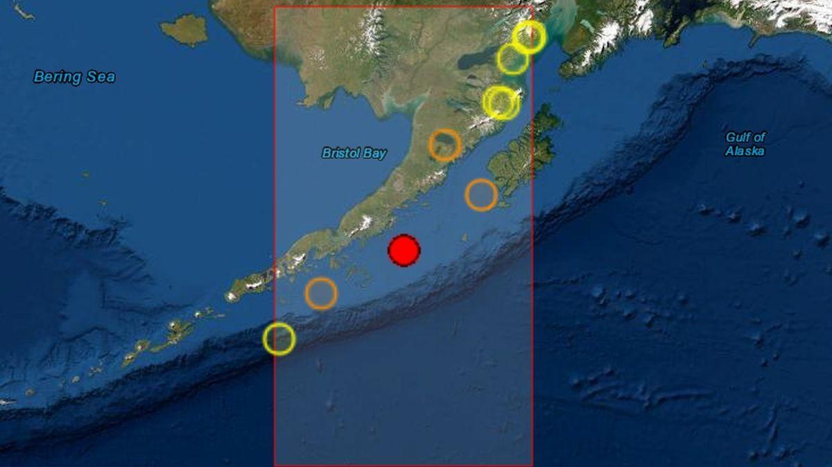Cutremur puternic, de magnitudine 8,2, în Alaska. A fost emisă alertă de tsunami