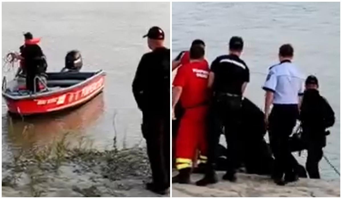 Șapte adolescenţi au mers la scăldat în apele Siretului, la Filipești. Cinci au murit. Scafandrii le-au recuperat trupurile după câteva ore