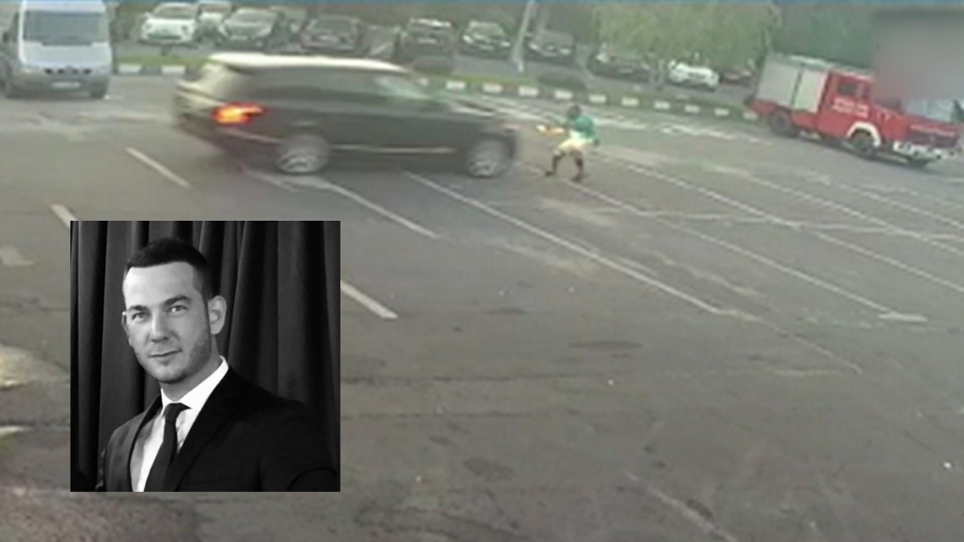 Șoferul care a lovit intenționat cu mașina angajatul unei spălătorii s-a predat.Omul de afaceri turca fost reţinut pentru 24 de ore