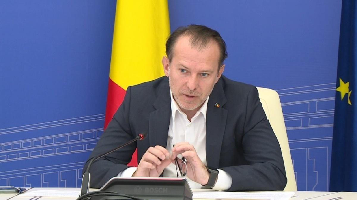 Premierul Florin Cîţu vrea nunţi doar cu certificat digital Covid în localităţile unde creşte numărul de infectări cu noul coronavirus