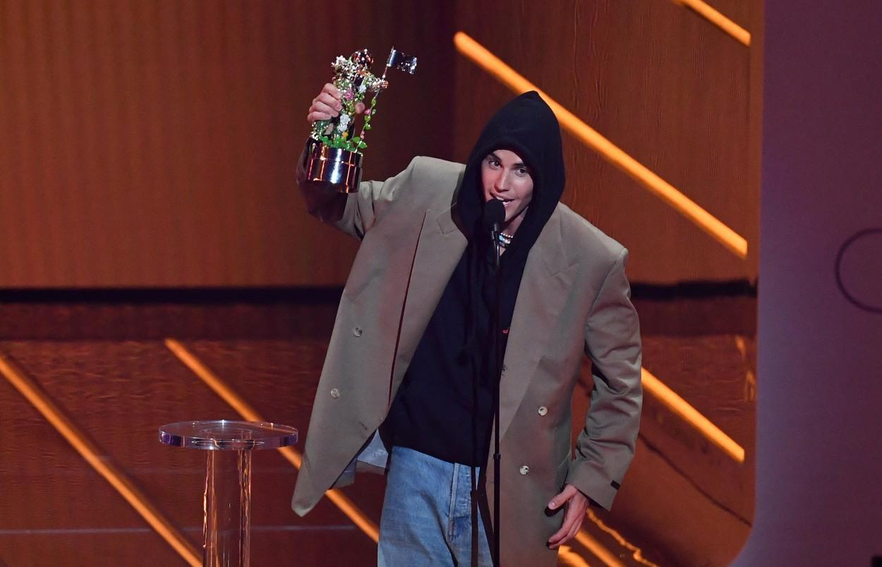 """MTV Video Music Awards 2021. Justin Bieber a plecat acasă cu trofeul pentru """"artistul anului"""""""