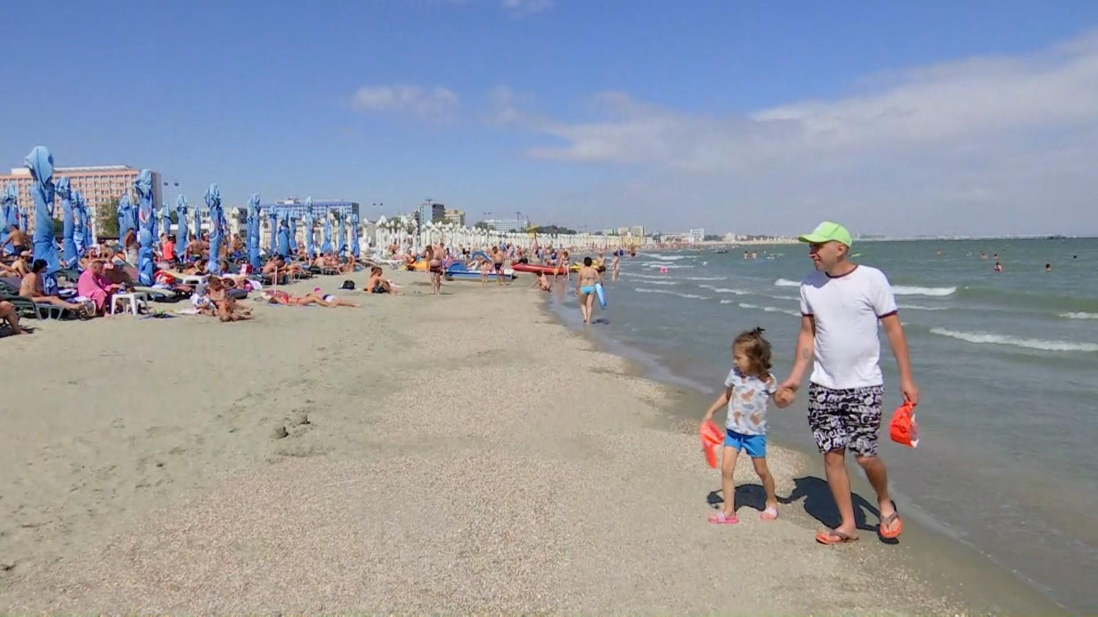 Temperaturi de vară pe litoral. Turiştii se pot bucura de vremea frumoasă până la finalul săptămânii