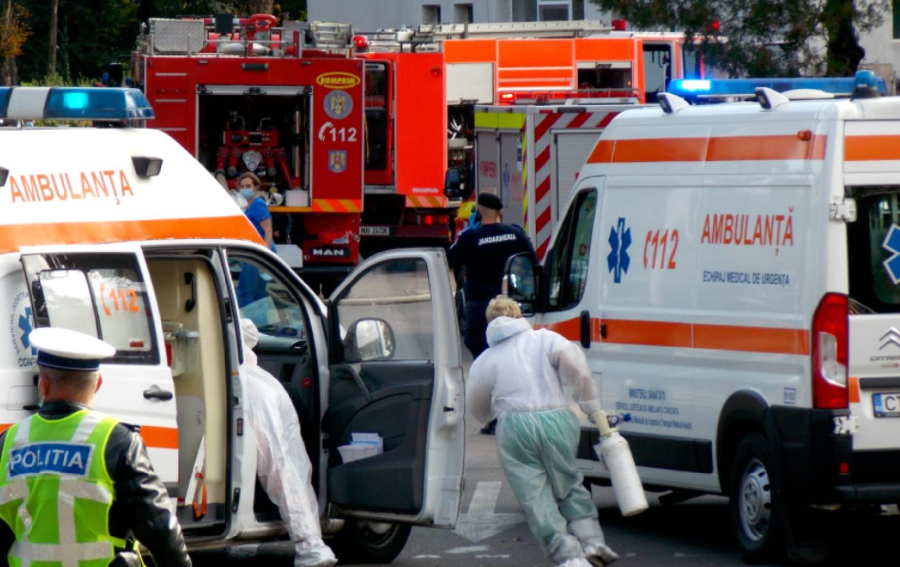 Filmul incendiului de la Spitalul de Boli Infecțioase Constanța, unde 7 persoane au murit la secţia ATI. Managerul a fost demis