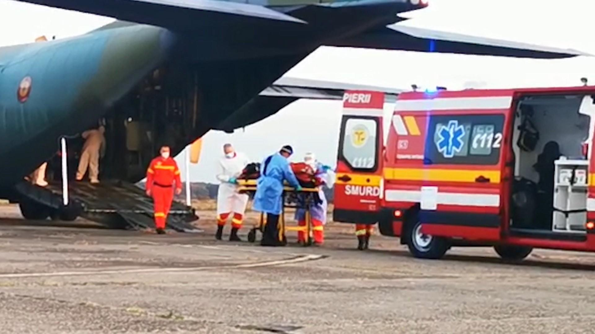O pacientă COVID în stare critică, întoarsă din drumul spre Ungaria, a murit după ce a intrat în stop cardiorespirator