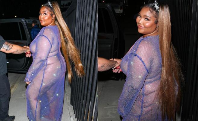 Nu îi este rușine cu greutatea sa, dar nici să iasă fără lenjerie într-o rochie transparentă. Cum arată când se întoarce cu fața diva care a atras toate privirile