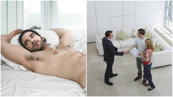 Un agent imobiliar s-a pozat gol în camerele unei vile de 1.29 milioane $ și pozele au făcut înconjurul netului. De ce a făcut asta: