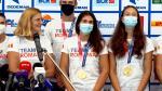 Olimpicii de la canotaj, primiţi că nişte eroi: o medalie de aur şi două de argint am obţinut la Jocurile Olimpice de la Tokyo 2020