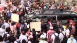 Maşina preşedintelui Mexicului, blocată în trafic de oamenii nemulţumiţi. Şeful statului a plecat după câteva ore şi a refuzat să cheme armata în ajutor