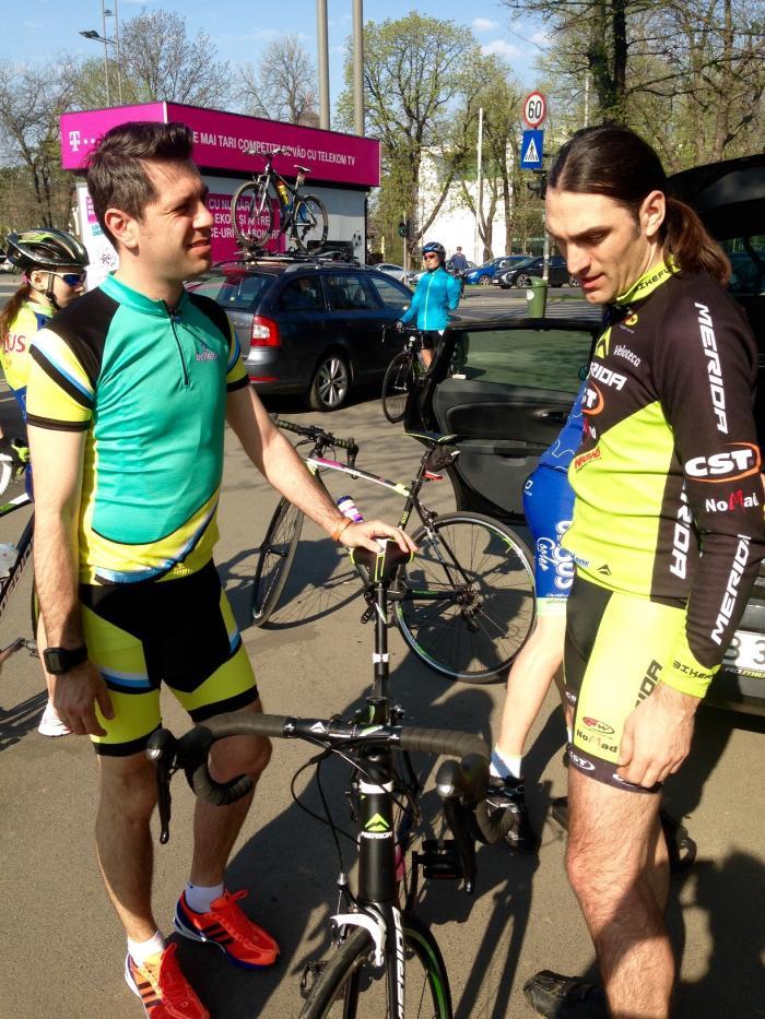 Daniel Osmanovici face curse cu bicicleta: 93 de kilometri dintr-o lovitură