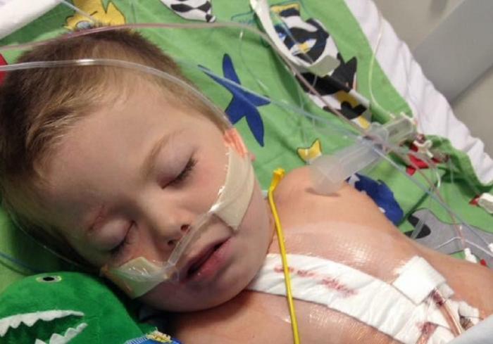 El este micul luptător: La patru ani a scăpat din ZECE infarcte. Află-i povestea