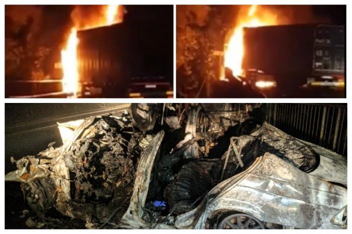 Apel disperat al tatălui unuia dintre tinerii morţi carbonizaţi în accidentul din Bihor către toţi şoferii