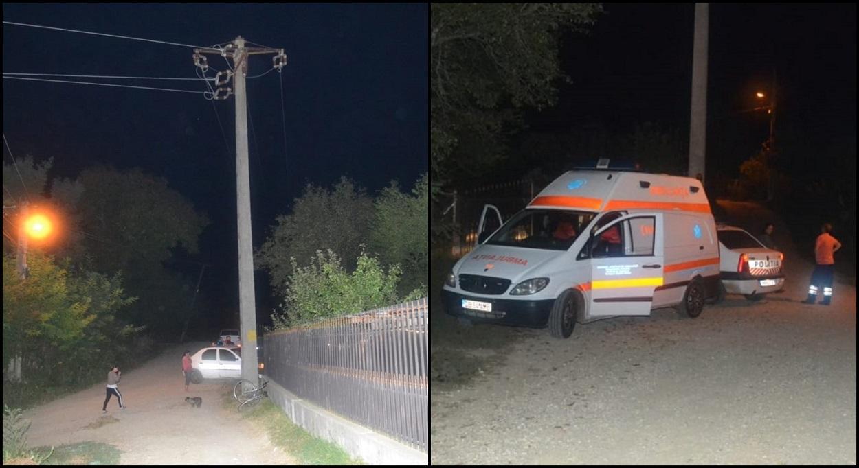 O fată de 14 ani a murit după ce a căzut de la 7 metri înălţime, de pe un stâlp de electricitate