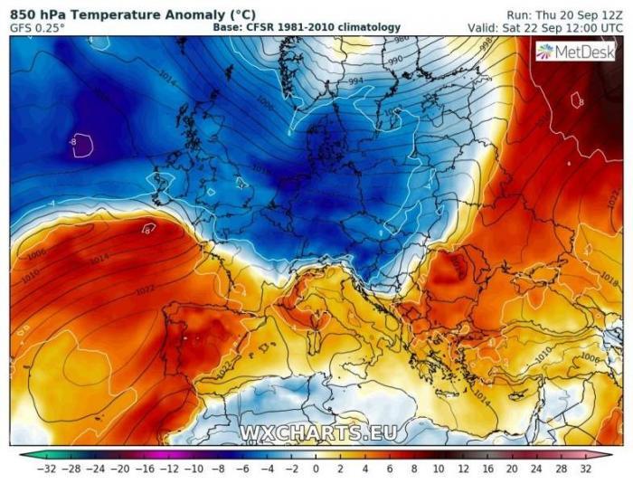 Minus 12 grade în România săptămâna viitoare. Anunțul meteorologilor Severe Weather Europe