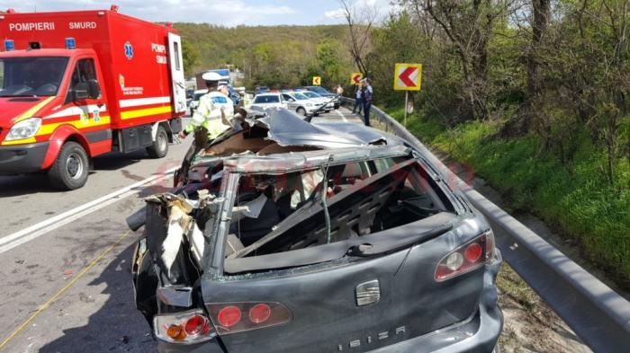 Şoferul de TIR care a ucis 5 oameni la Pădurea Sarului, depăşind cu viteză în curbă, riscă peste 10 ani de închisoare