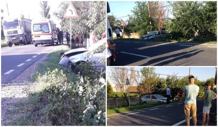 Şofer de camion mort în accident, la Tămăoani