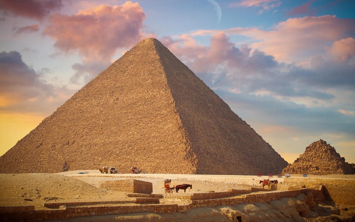 Piramida lui Keops, Giza, Egipt