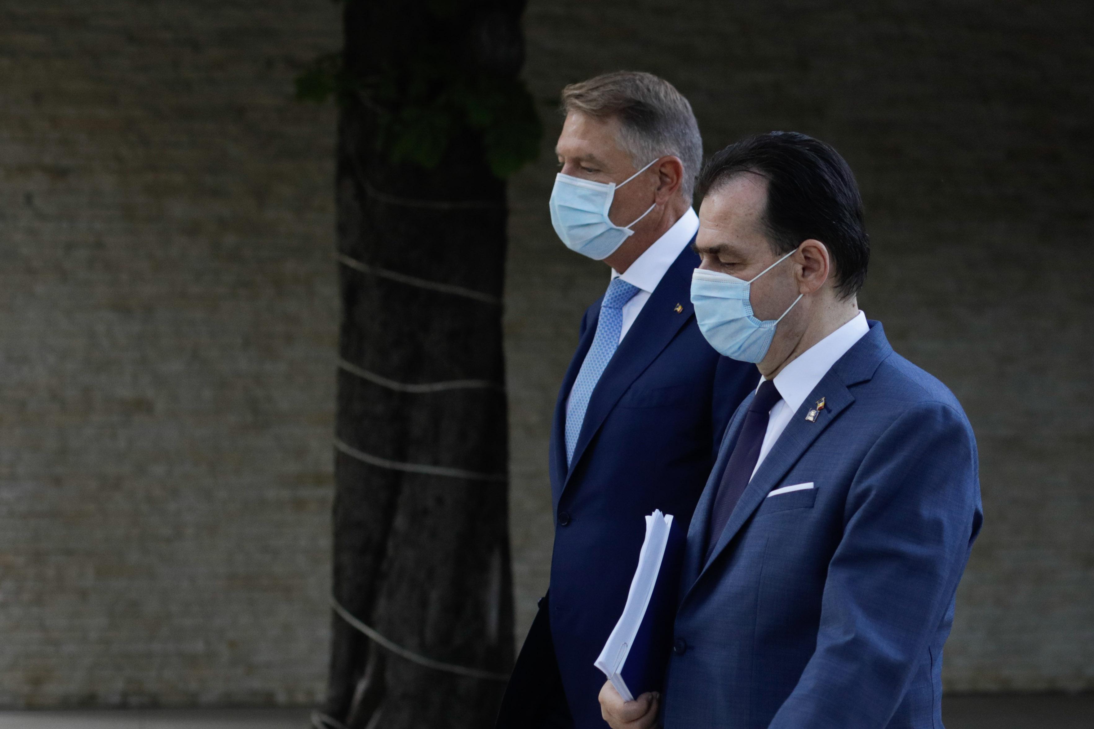 Klaus Iohannis și liderii PNL caută soluții pentru un nou guvern