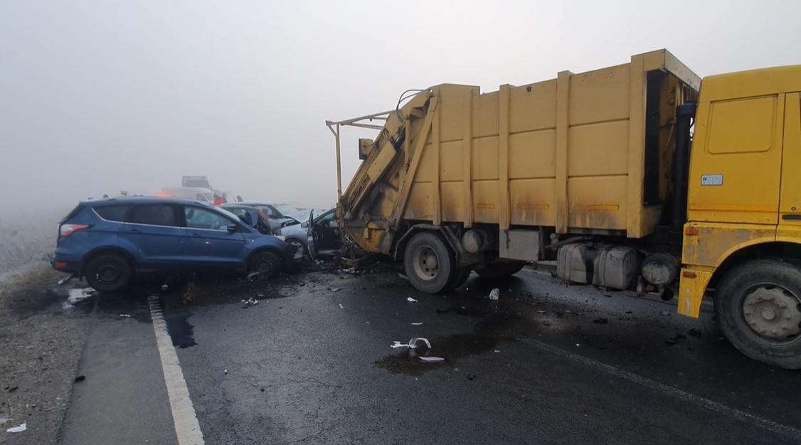 Accident pe centura Brașovului
