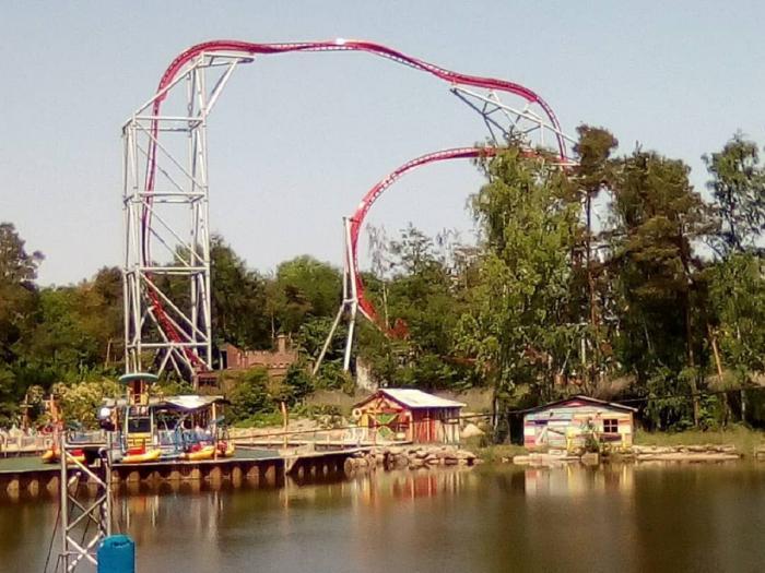Rollercoaster-ul Sky Scream