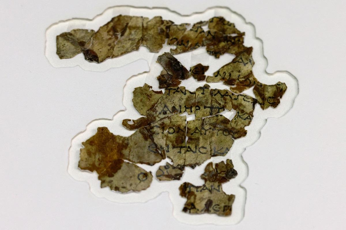 Noi fragmente de manuscrise de la Marea Moartă și cel mai vechi coș din lume