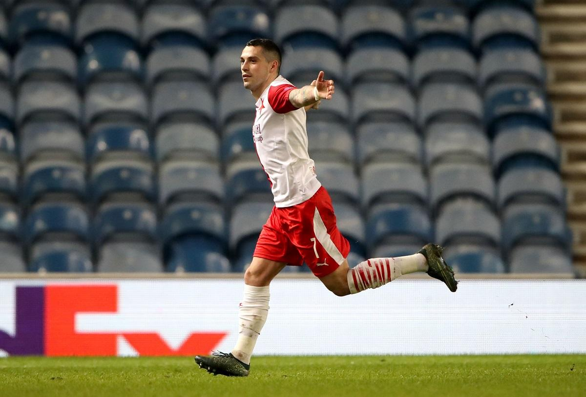 Nicolae Stanciu a ajuns la şapte goluri marcate în ultimele cinci meciuri oficiale jucate pentru Slavia Praga