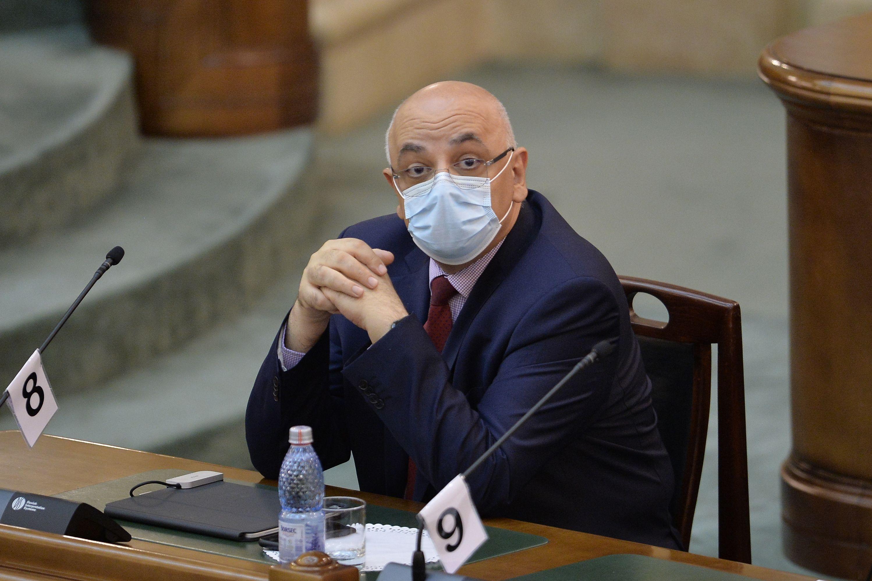 Raed Arafat, în Parlament