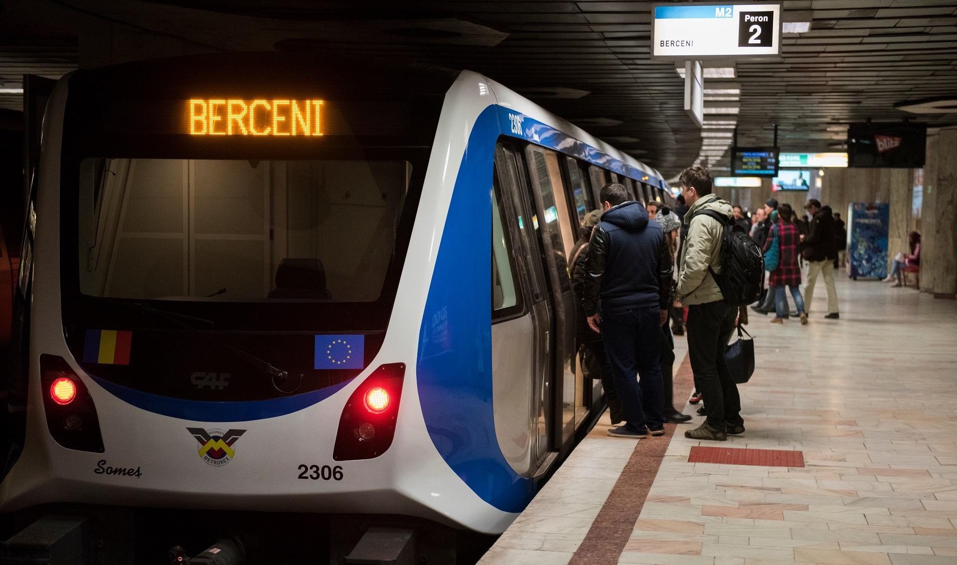 protest metrou București
