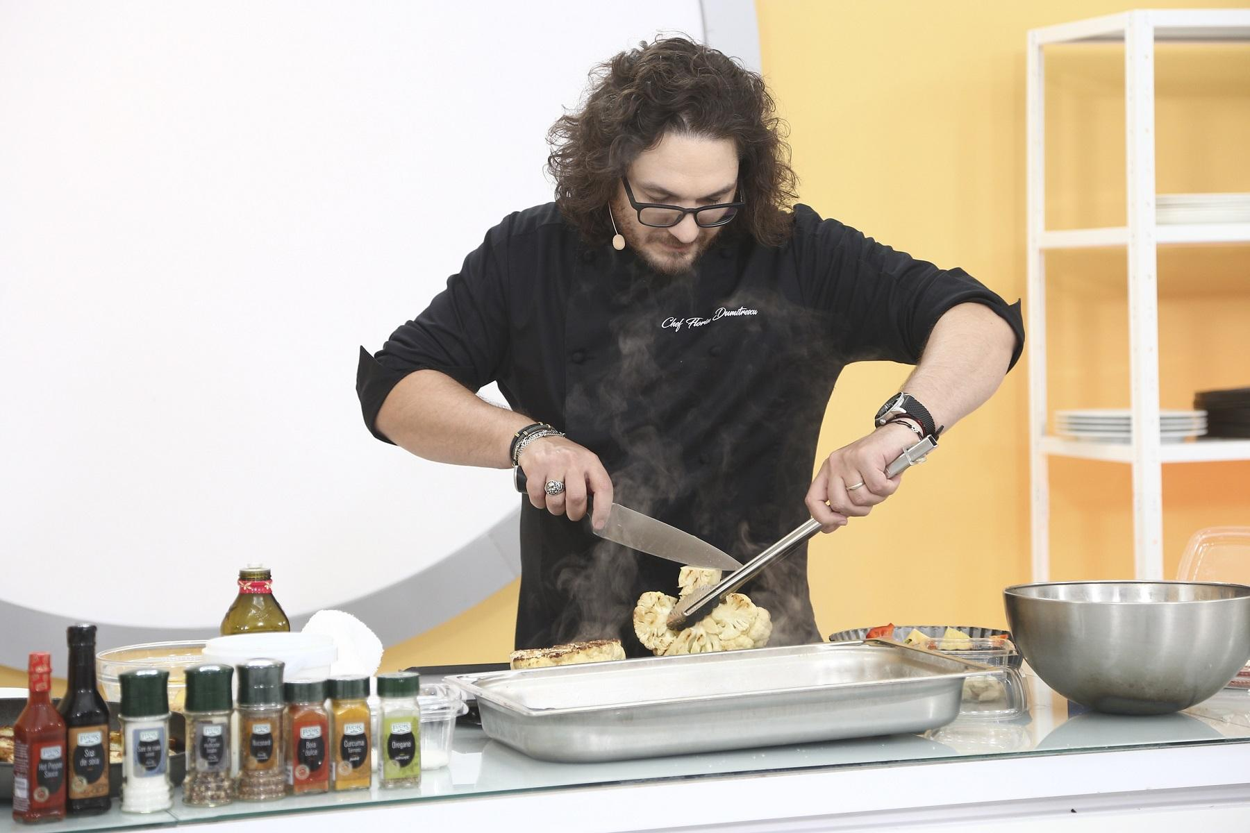 00, o nouă ediție Chefi la cuțite. Chef Florin Dumitrescu a oferit duminică seara cuțitul de aur