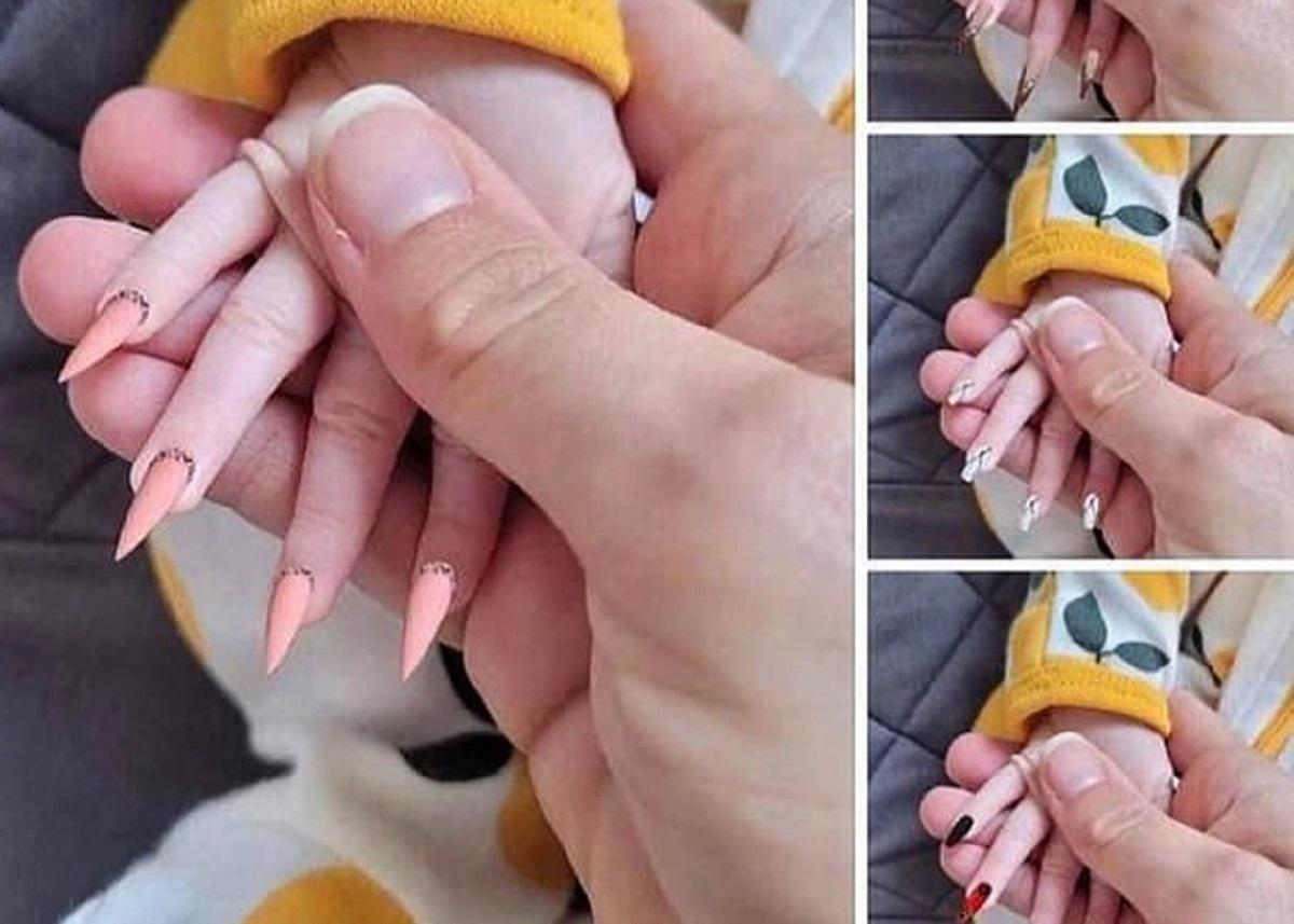 Internauţii atrag atenţia asupra unghiilor lungi la copii şi implicit a pericolelor