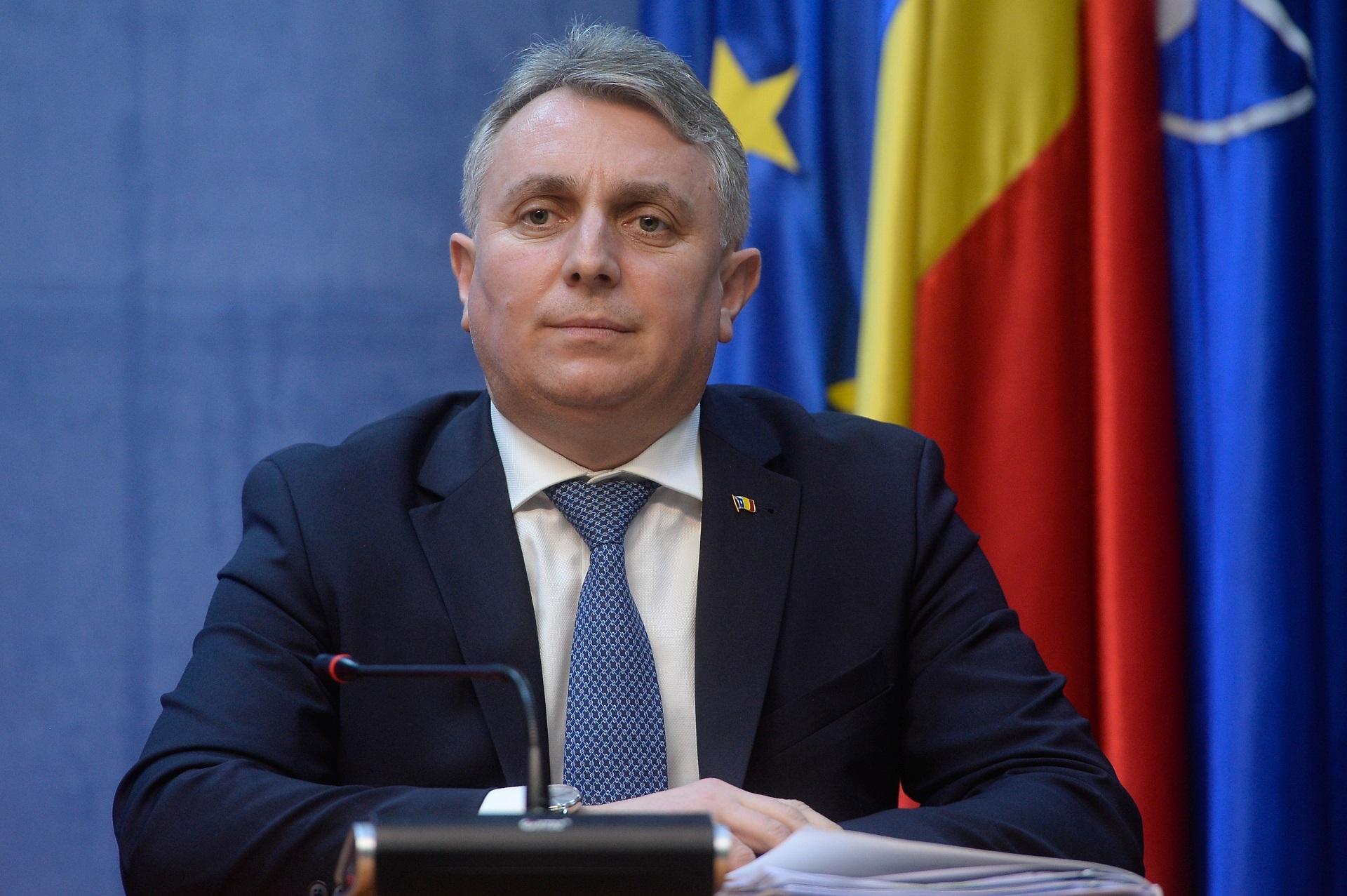 Ministrul de Interne Lucian Bode
