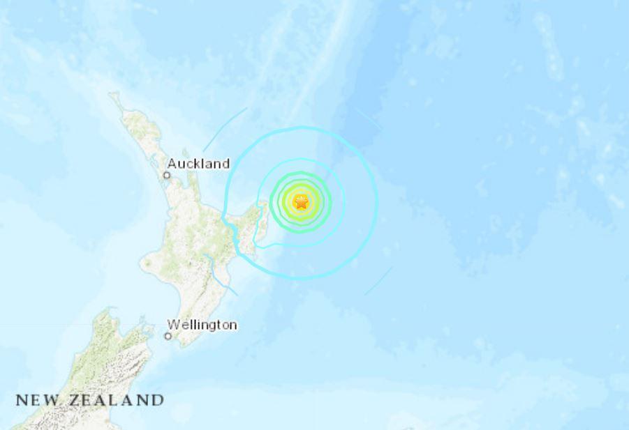 Cutremur cu magnitudinea de 6.9, în Noua Zeelandă. A fost emisă o alertă de tsunami