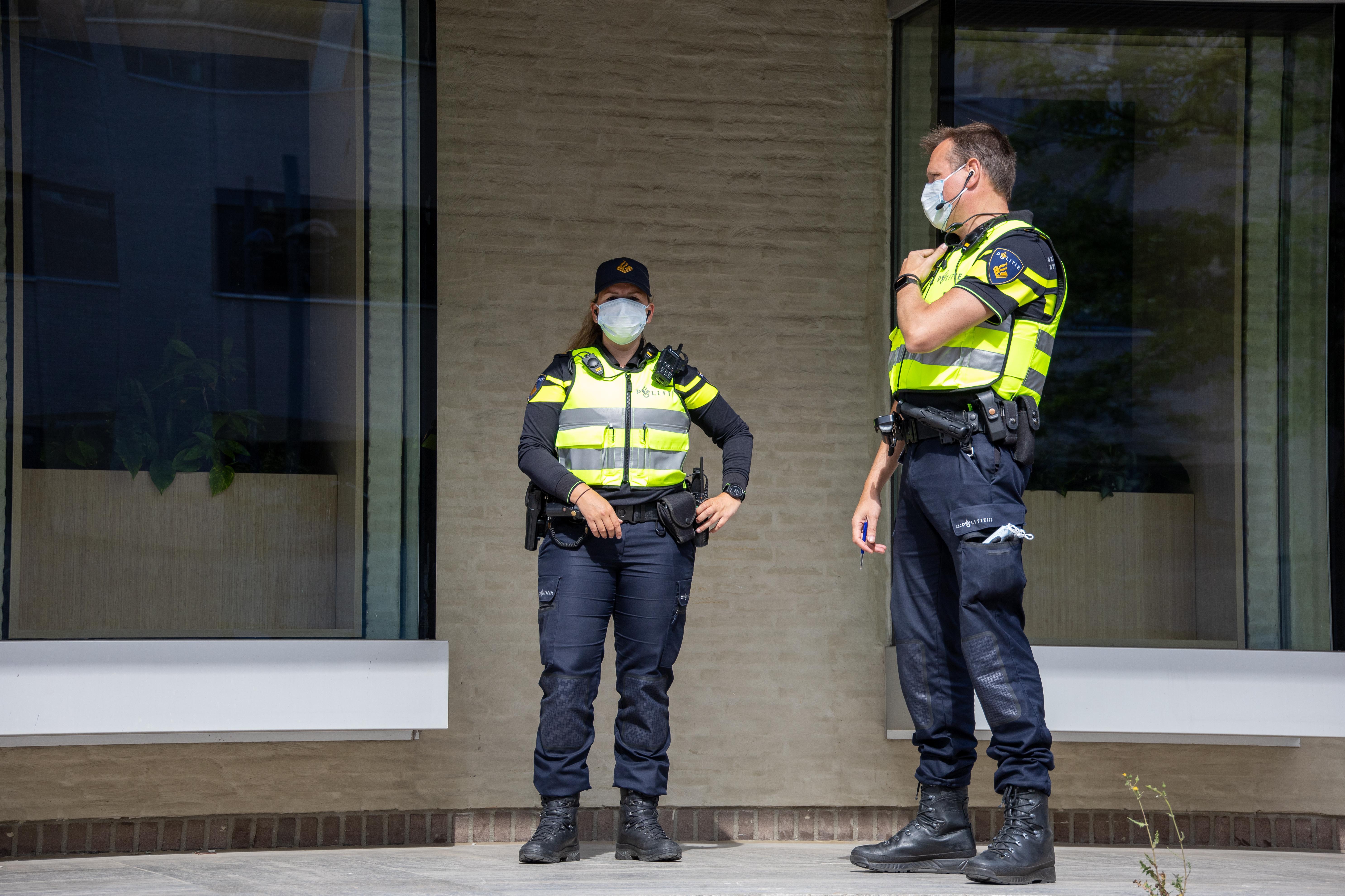 Patrulă de poliție, în Olanda. Imagine ilustrativă