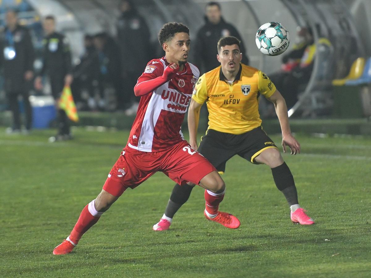 Dinamo Bucureşti şi FC Voluntari sunt pe locuri de baraj în clasamentul Ligii I la fotbal