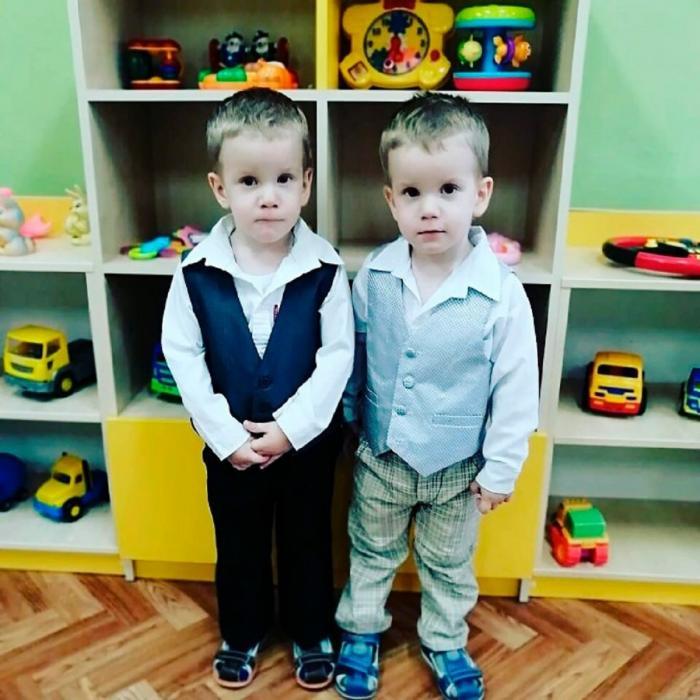 Dmitri și Mihail, în vârstă de doi ani, au fost uciși în masacru