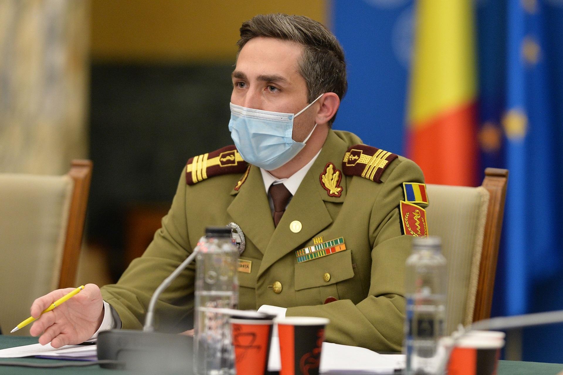 Valeriu Gheorghiță, coordonatorul campaniei naționale de vaccinare