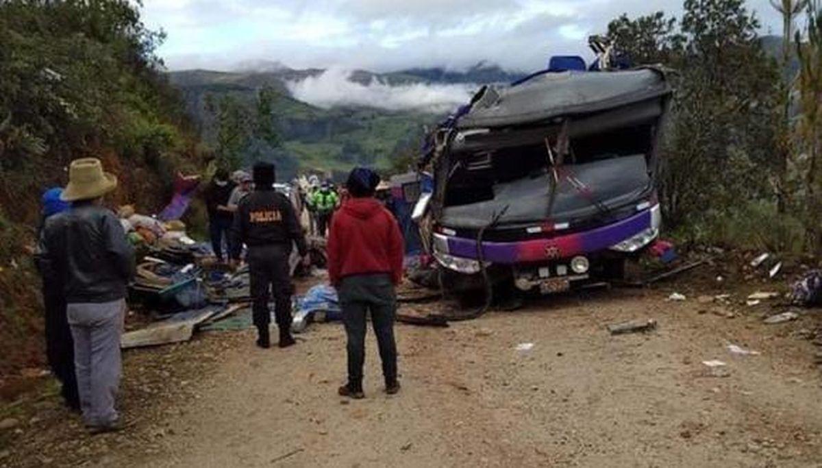 20 de morți într-un accident de autobuz în Peru