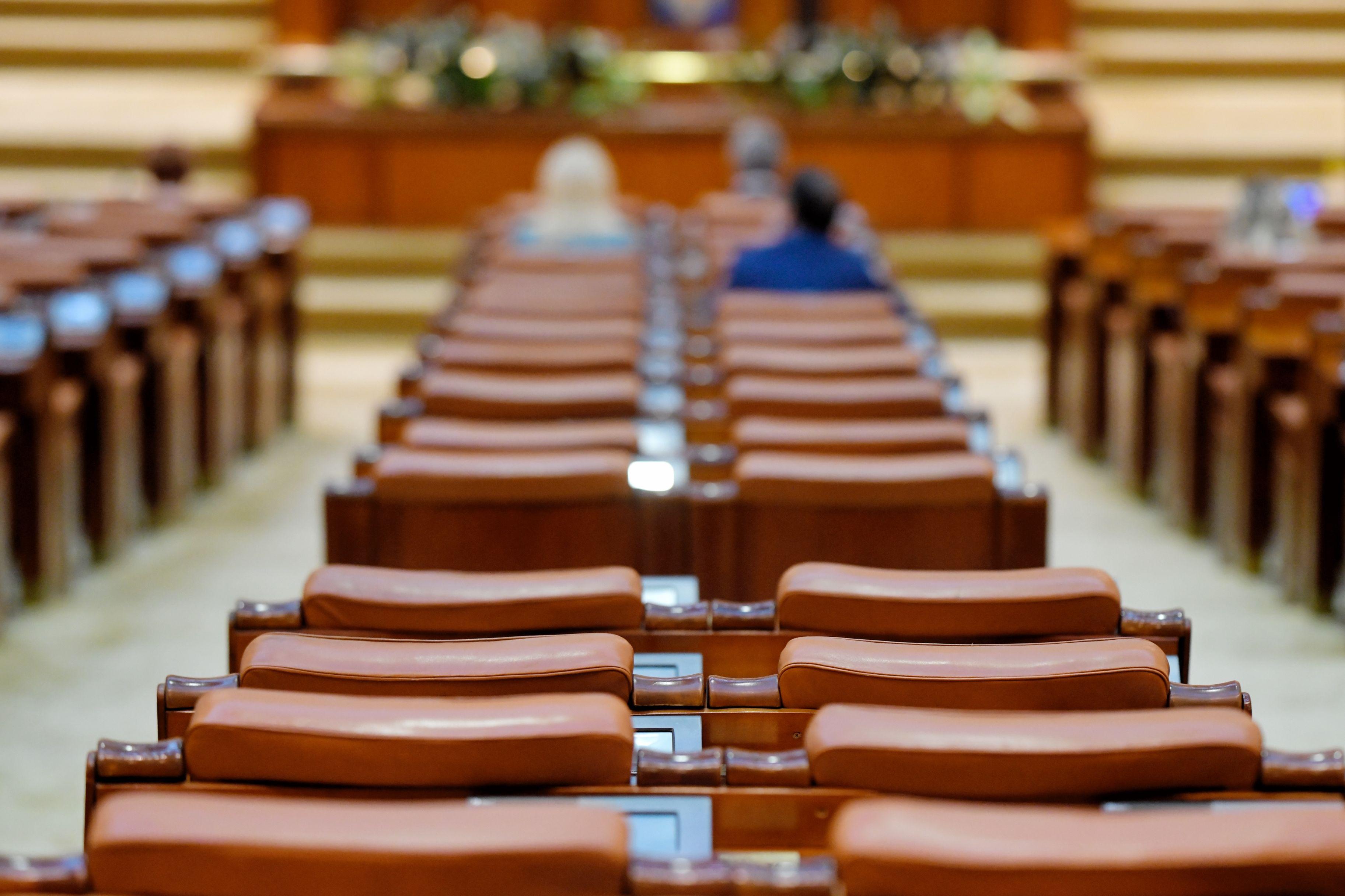 Imagine din Parlamentul României