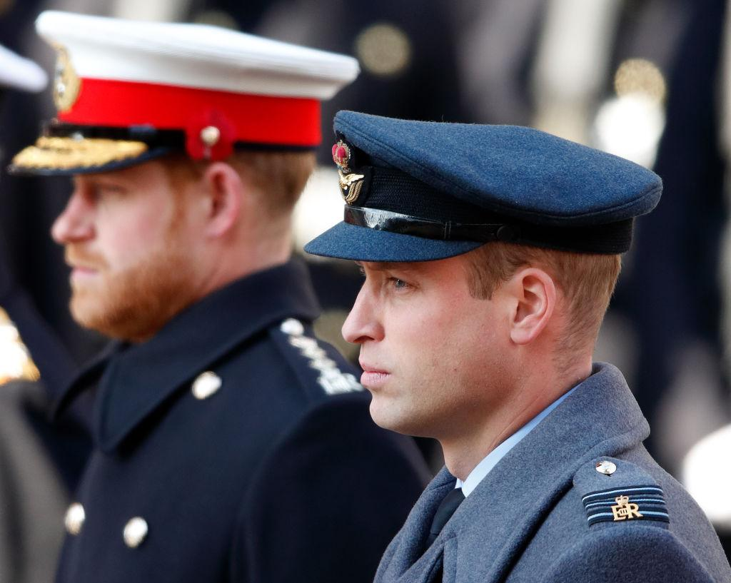 Prințul William și fratele său Harry, fotografiați în 2019