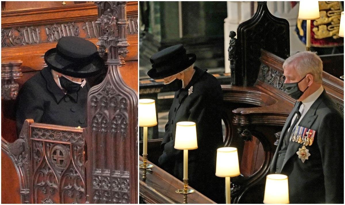 Regina a plâns la funeraliile Prinţului Philip. Majestatea Sa şi-a plecat capul lângă sicriul iubitului ei soț, luându-şi rămas-bun pentru ultima dată