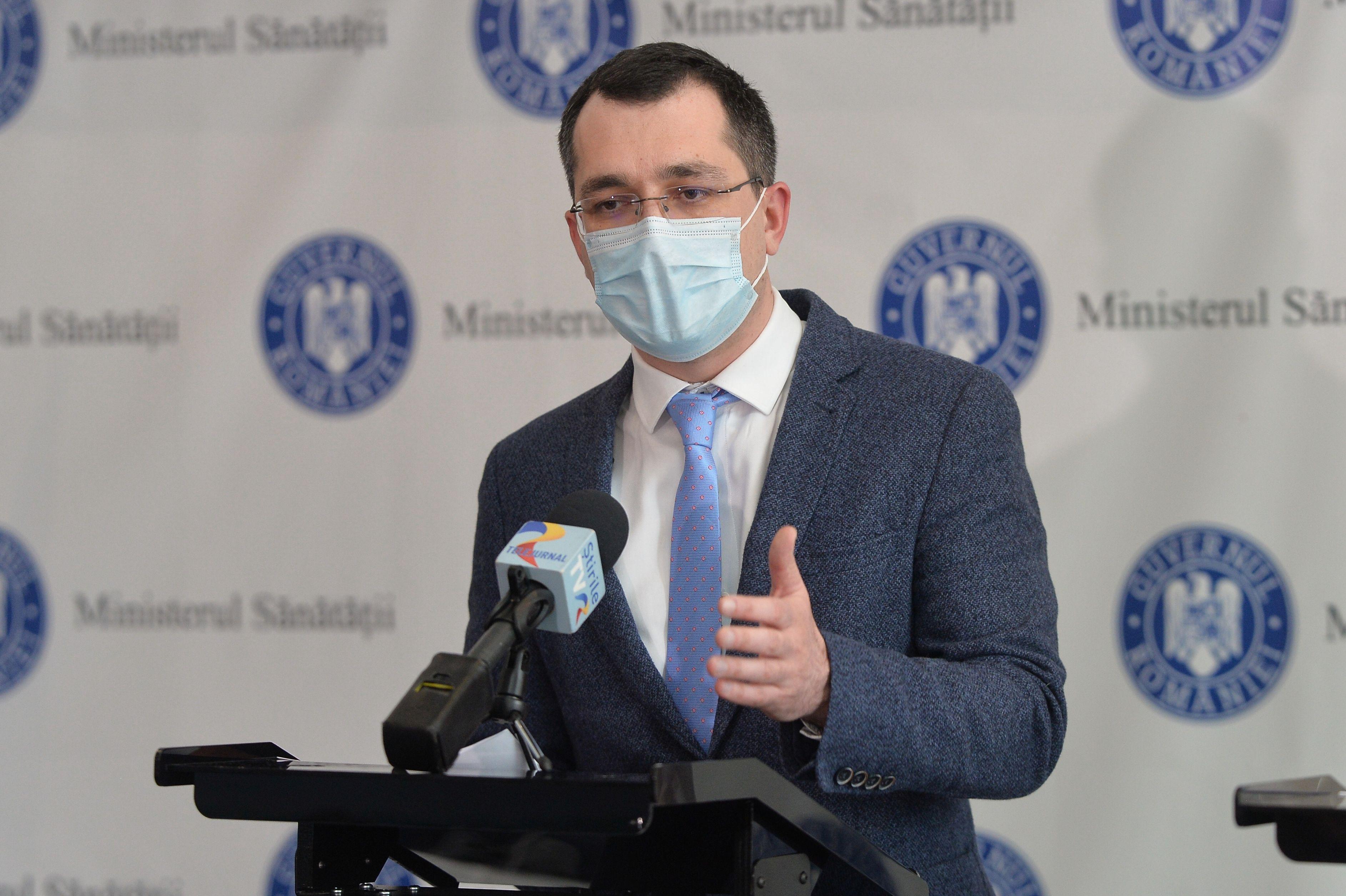 Vlad Voiculescu, fostrul ministru al Sănătății