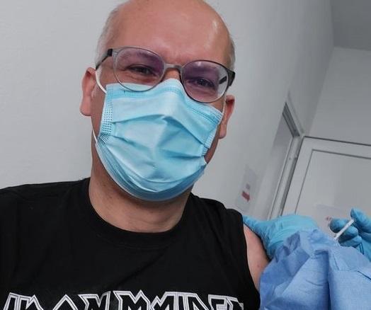 Jan-Erik Cardon s-a vaccinat într-un centru din Ilfov