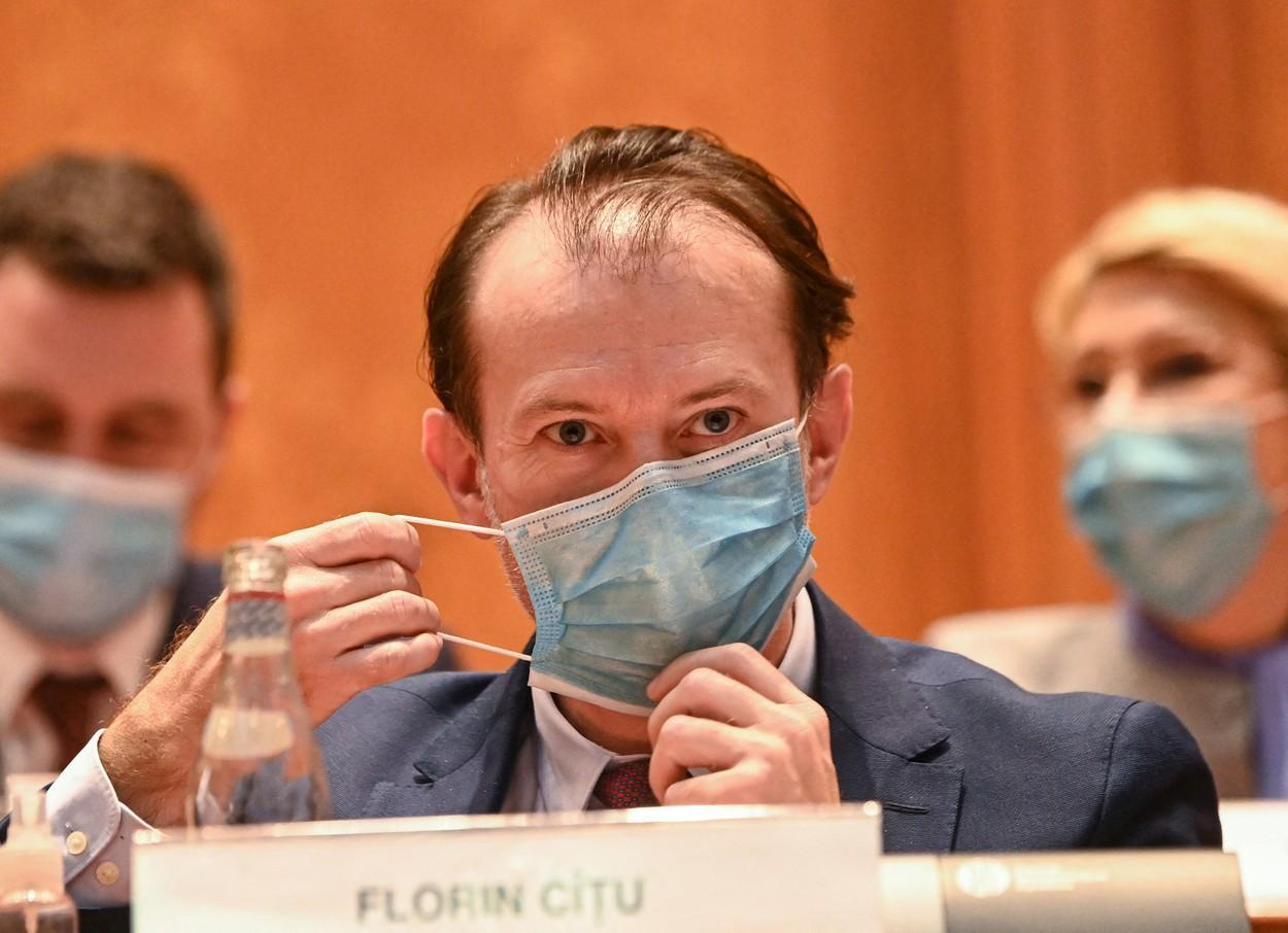 Premierul Florin Cîțu