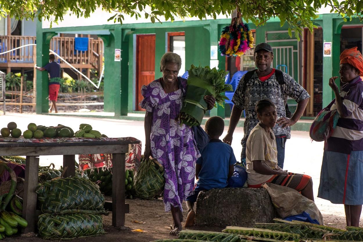 Localnici din Vanuatu