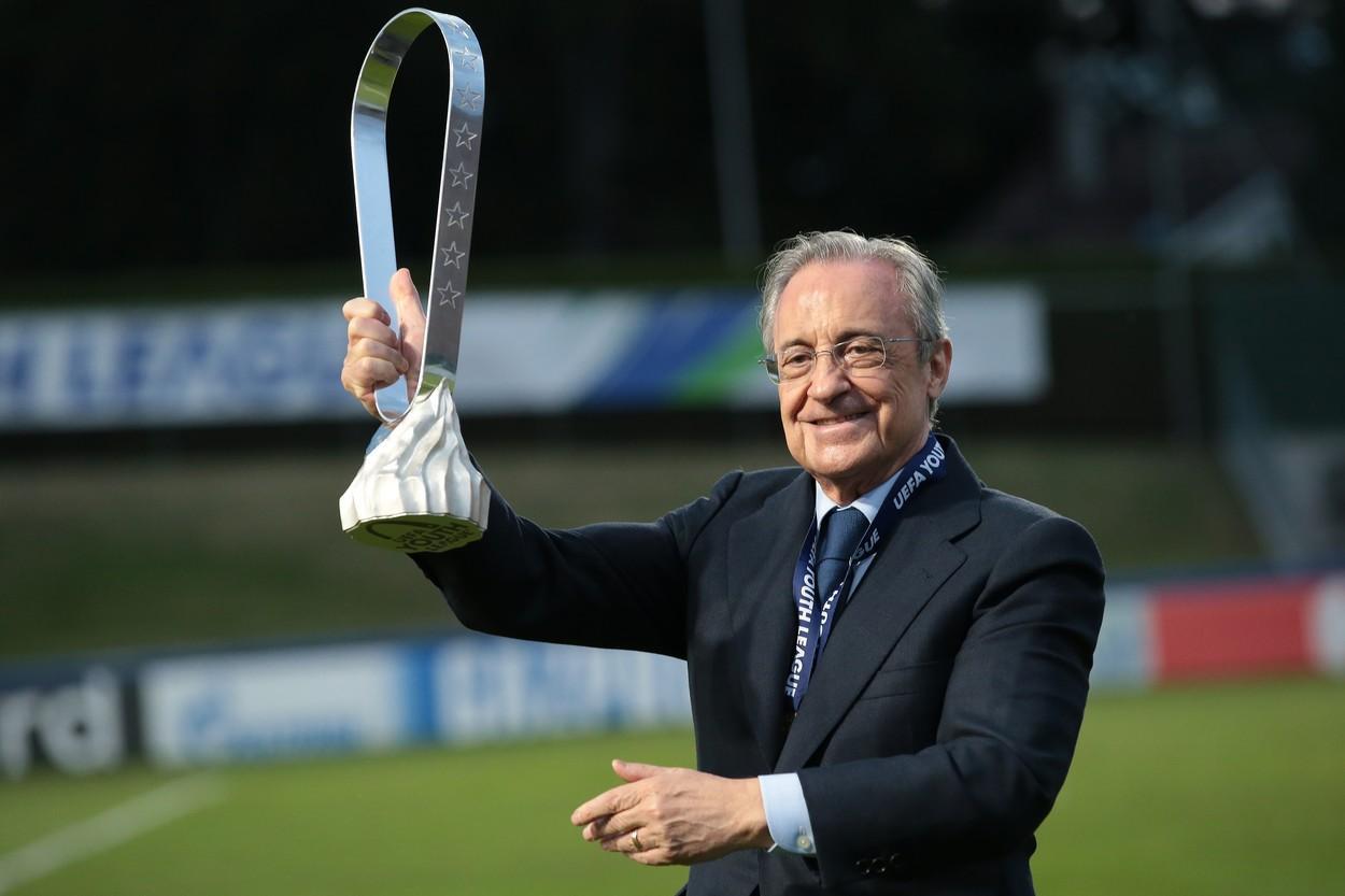 Florentino Perez, președintele controversatei Super Ligi Europene, amenință că-şi face propria Cupă Mondială. Ce bonusuri uriașe primesc echipele fondatoare