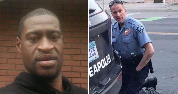 Polițistul Derek Chauvin l-a imobilizat pe George Floyd și i-a ținut genunchiul pe gât, lucru care a dus la moartea acestuia
