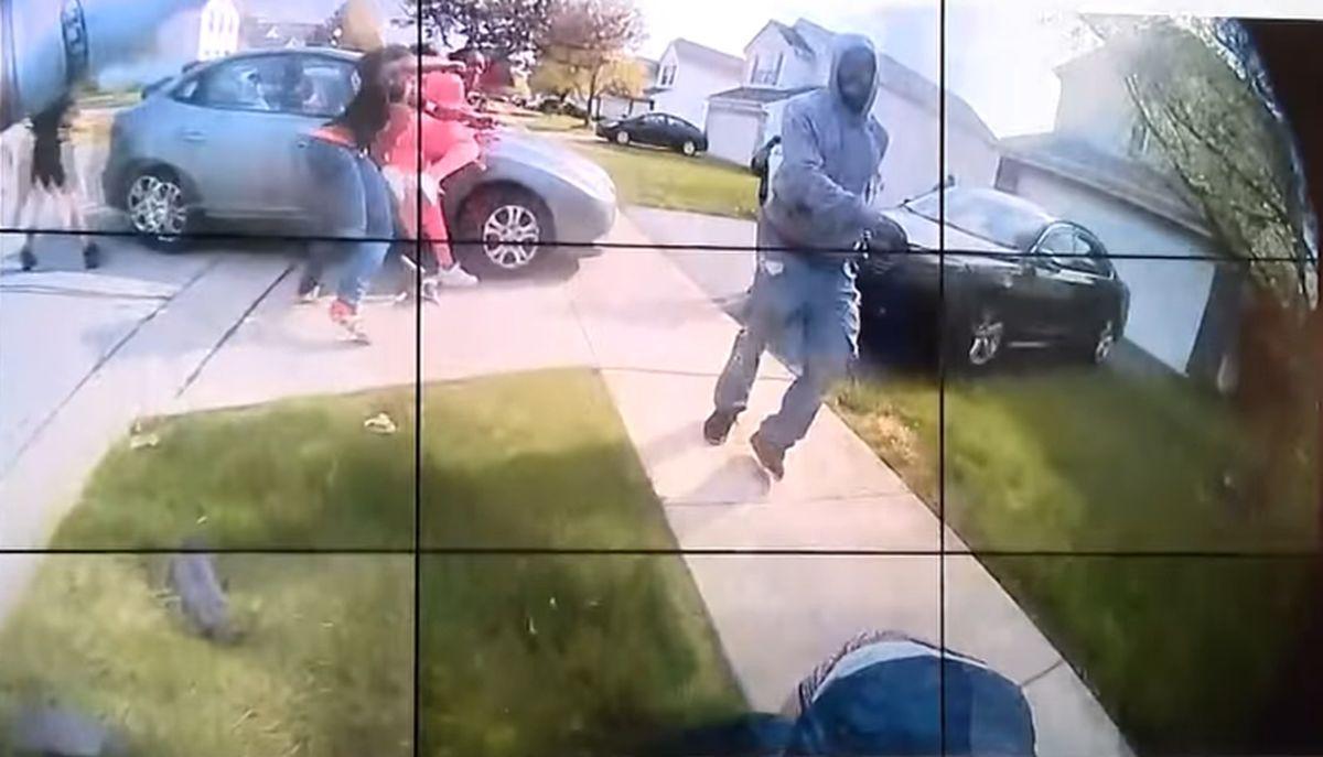Momentul în care un polițist împușcă mortal o fată de 16 ani, în SUA