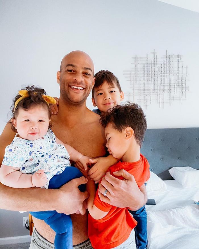 Verner Dixon şi copiii săi