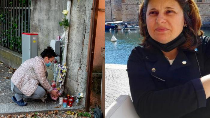 """Altar de flori şi lumânări pentru o româncă în Italia, spulberată pe trecerea de pietoni: """"Cristina a murit sub ochii mei"""""""