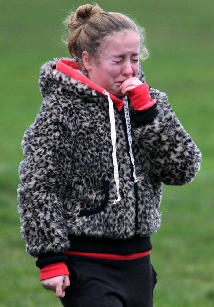 O femeie care plânge